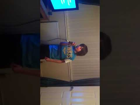 Harry singing at home- reflections
