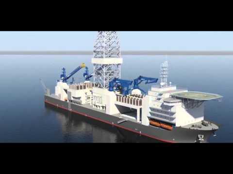 3D Offshore Platform Showreel By Nasir Shahidan