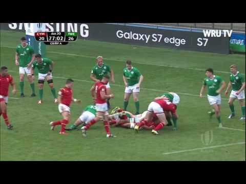 Uchafbwyntiau Cymru Dan 20 Wales U20 highlights