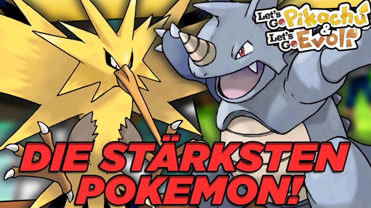 die stärksten pokemon