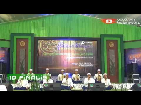 Nasha - Juara 1 | 10 Finalis FesBan Haul Agung Maulana Asmoroqondi 2017