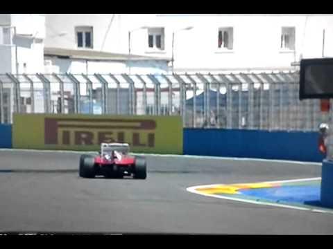 Fernando Alonso vince a Valencia il gran premio d'europa 2012