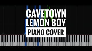 Cavetown - Lemon Boy instrumental piano cover *without melody