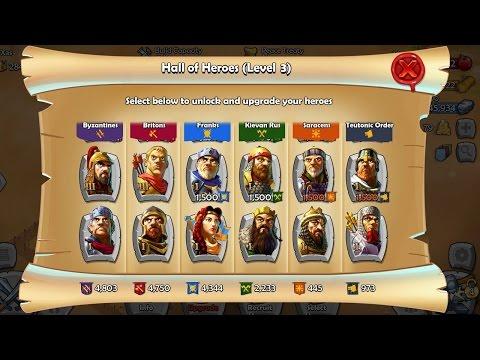 Обзор игры Age of Empires: Castle Siege - Clash of Clans в другую Эпоху ? 5/10