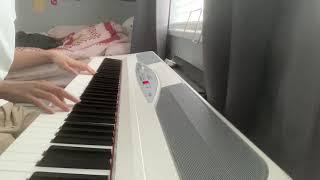 war with heaven - keshi - piano cover:-)
