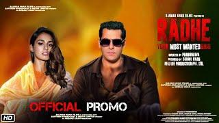 Radhe Your Most Wanted Bhai | Official Promo | Salman Khan | Disha patani | Randeep Hudda | Radhe