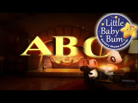 ABC Song  Alphabet Song  Nursery Rhymes  LittleBaBum!