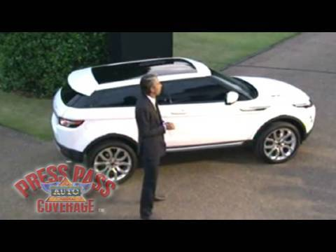 Range Rover Unveils All New Evoque Compact Suv Youtube