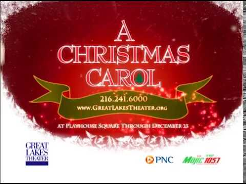 Great Lakes Theater's A CHRISTMAS CAROL @ Playhouse Square - YouTube