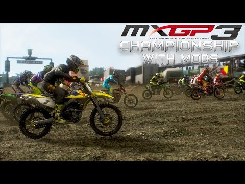 MXGP3 Full 450 Championship with mods