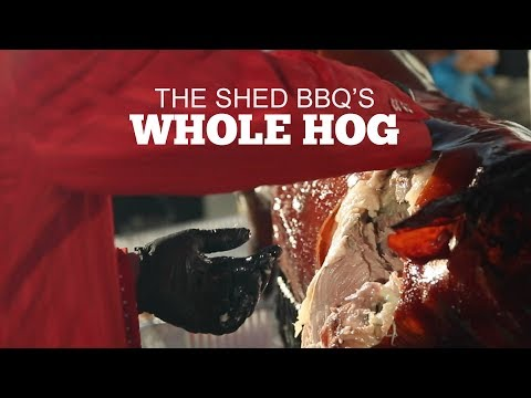 Whole Hog With The Shed BBQ
