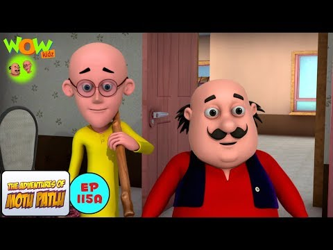 House Cleaning - Motu Patlu in Hindi WITH ENGLISH, SPANISH & FRENCH SUBTITLES thumbnail