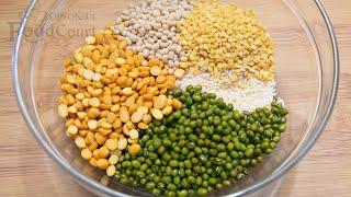 Healthy Breakfast Recipe/ Protein Rich Breakfast  Recipes/ Multigrain Dosa