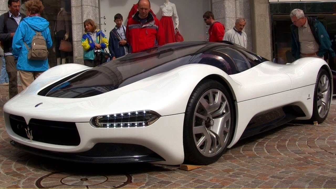 2005 Maserati Birdcage 75th Anniversary Concept Car Youtube