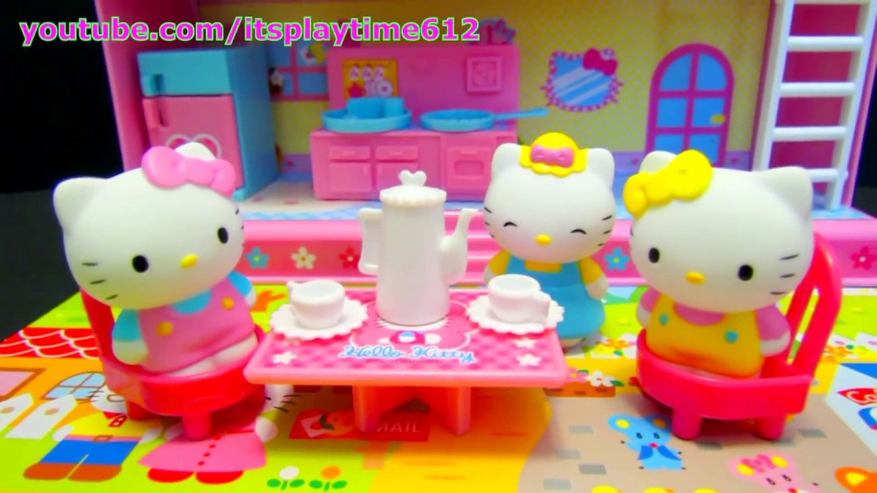 Hello Kitty House hello kitty good friend house playset sanrio muraoka toy japan