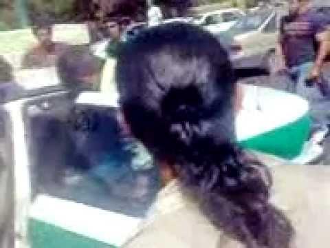 Police Arrest Woman - Iran, Hamadan