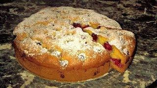Нежнейший пирог с малиной/ежевикой/ягодами. Сметанный пирог с ягодами. Вы влюбитесь в этот рецепт!