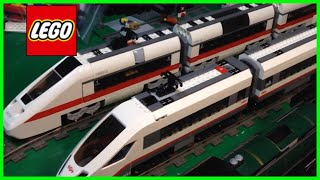 LEGO City 60051 High-Speed Passenger Train new 2014 set review