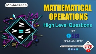 Mathematical Operations (MOT) | HIGH LEVEL Questions | Mr. Jackson | Tamil
