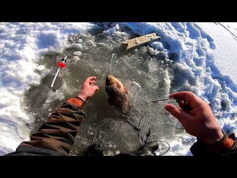 Рыбалка ХАПУГОЙ на сибирской реке.