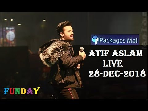 Atif Aslam Concert in Packages Mall Lahore - 28-Dec-2018 | Atif Aslam Live Performance