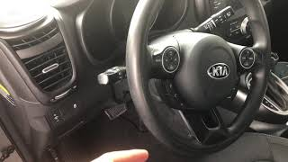 KIA SOUL - HOW TO OPEN GAS CAP