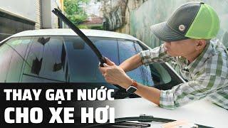Chia sẻ: Thay gạt nước mưa cho xe hơi   thao tác nhanh dễ tháo lắp tại nhà.