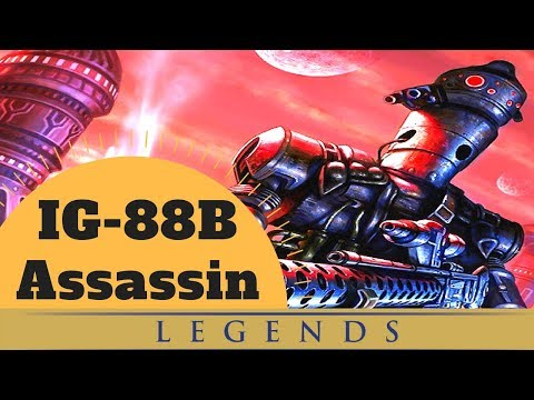 THE ASSASSIN, THE MYTH, THE LEGEND - IG-88B Assassin Droid Lore - Star Wars Legends Explained