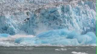 Glacier Calving Causes Huge Shooters