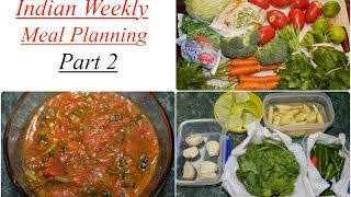 In this video i have share indian meal planning and shown how to do pre preparation ideas given tips for the plan. is very import...