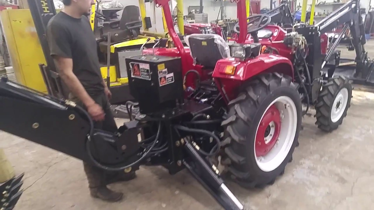How to Install A Jinma Backhoe