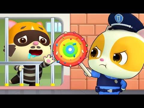 Police Officer TIMI | Police Cartoon | Police Truck | Jobs Song | Kids Songs | Kids Cartoon |BabyBus