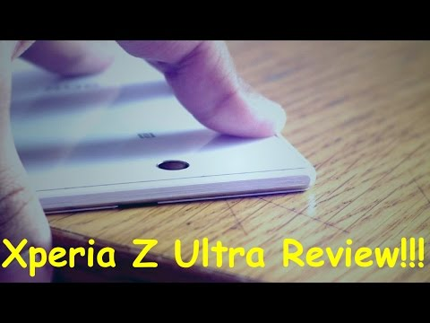Sony Xperia Z Ultra (C6833) White Review!!!