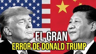 DONALD TRUMP: GUERRA COMERCIAL ENTRE CHINA Y ESTADOS UNIDOS.  El DOW JONES cae