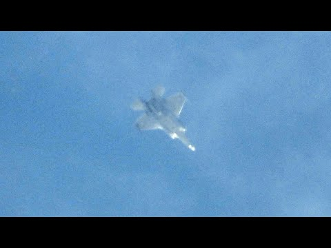 What Doing Its F-35I Combat Aircraft Over Lebanon?