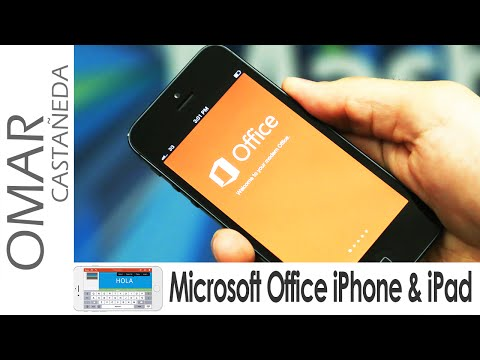 MICROSOFT OFFICE GRATIS IPHONE IPAD (WORD, EXCEL, POWERPOINT)