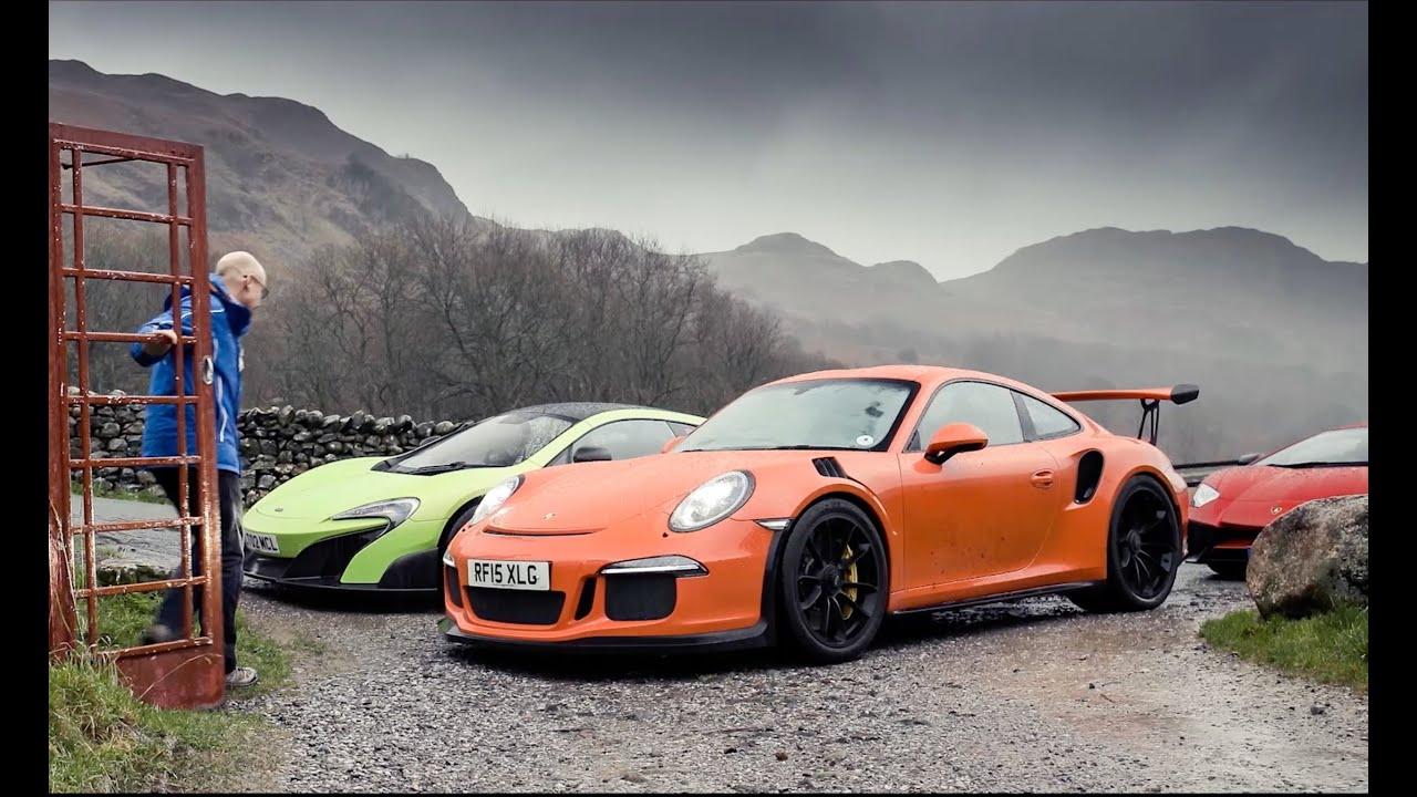 Lamborghini Aventador Sv Vs Porsche 911 Gt3 Rs Vs Mclaren