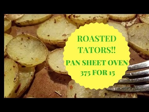 15 MIN SHEET PAN OVEN ROASTED POTATOES TATORS SIMPLE QUICK TASTY WITH TIPS - GO MAKE IT! - no recipe