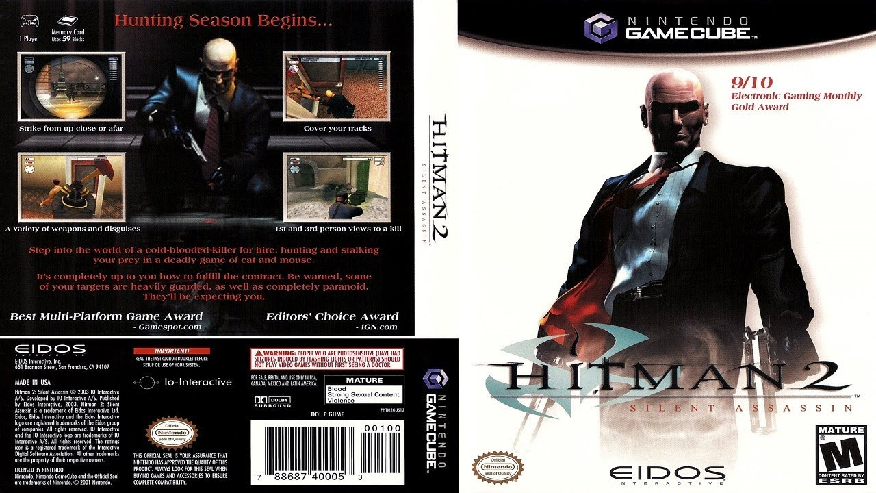 Hitman 2 Silent Assassin Gamecube Playthrough Live Youtube