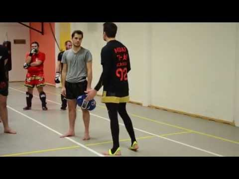 MUAY THAI SCHOOL 92 Mind Made Up for learn a Thaï technical in Boulogne
