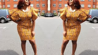 DIY, How to make an ANKARA dress