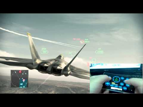 Play ACE Combat Assault Horizon with Monect