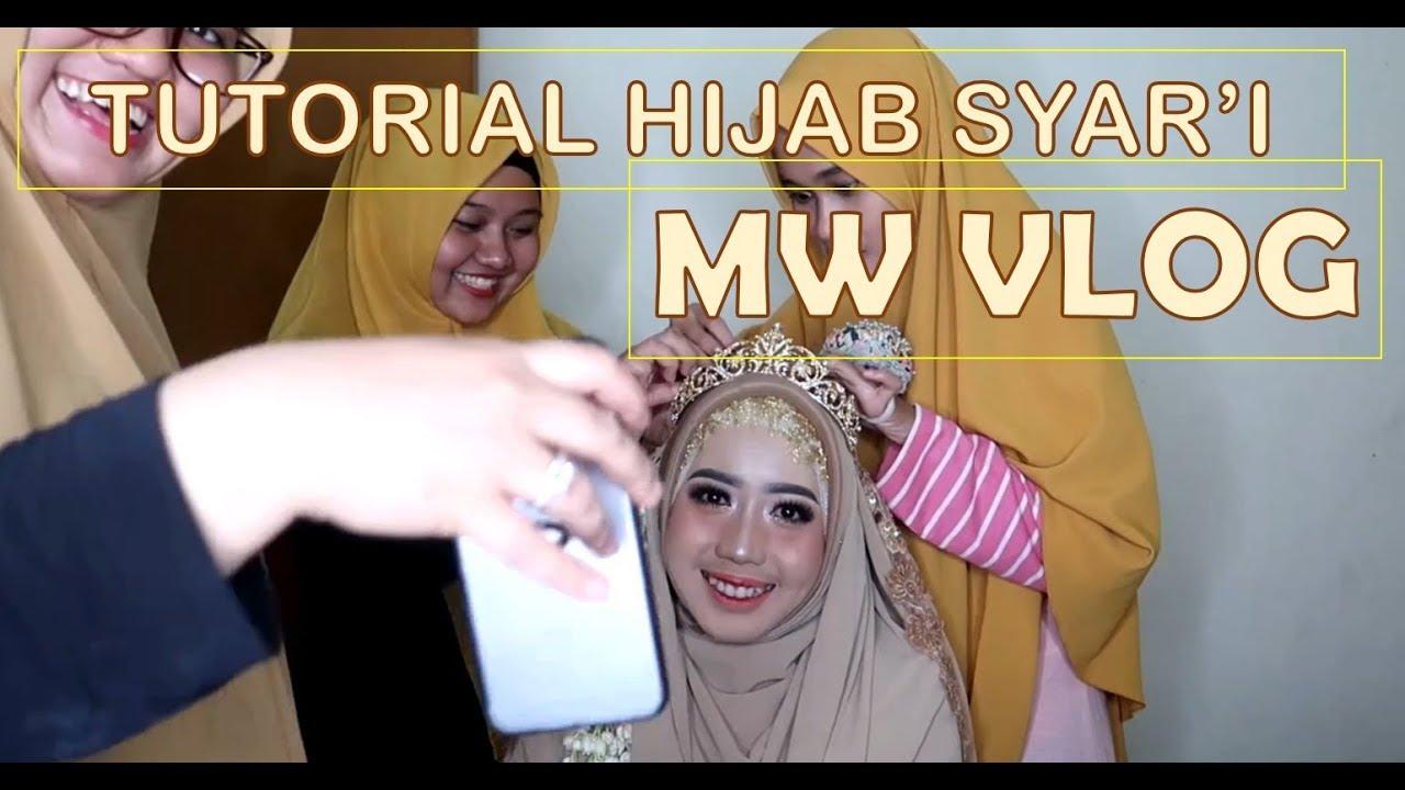 Mwedding Vlog 5 Tutorial Hijab Syari Modifiksi Adat Sunda