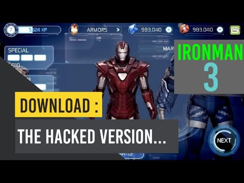 DOWNLOAD THE HACKED VERSION OF IRON MAN 3 THE OFFICIAL GAME
