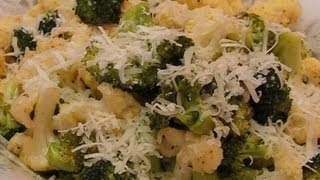 Betty's Roasted Broccoli And Cauliflower With Cheese
