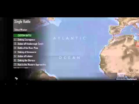 Let's play Atlantic Fleet/part 1 der Transporter