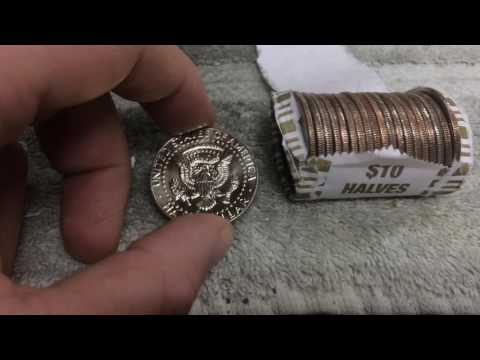 SILVERS, PROOF, AND RARE HALF! -Coin Roll Hunting-
