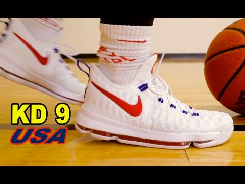 NIKE KD 9 PERFORMANCE REVIEW + ON FOOT LOOK