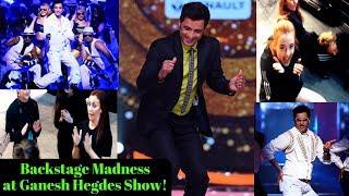 Ganesh Hegde Dance Show Backstage Madness! | ABG Awards #VLOG 11 ARTIST ADVENTURES|DANCER VLOGS