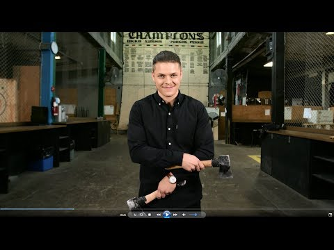 Vikings | Axe Throwing with Alex Andersen
